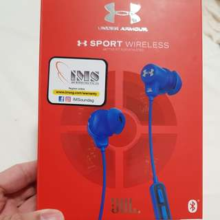 Under armour jbl sport Bluetooth wireless earphones