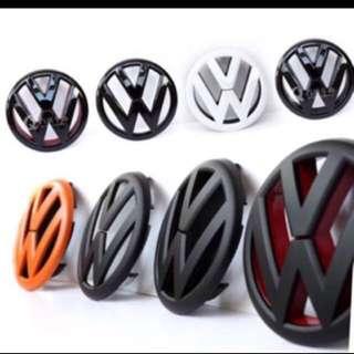 Volkswagen Front & Rear Emblem - Good Quality