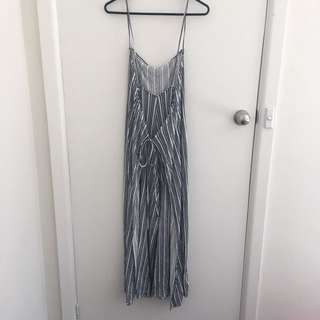 Zara Jumpsuit striped new