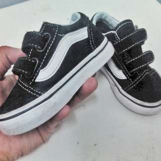 Original Kasut Vans for baby 1-2 years