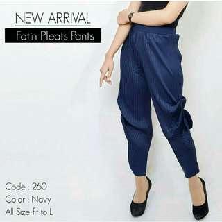 Fatin fleat pants