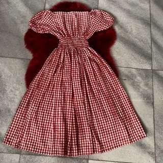 Dress sabrina hongkong size m