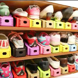 Shoe rack organiser