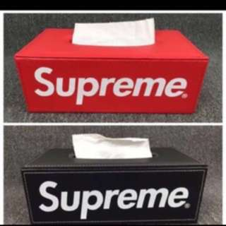 Supreme Tissue Box - High Quality