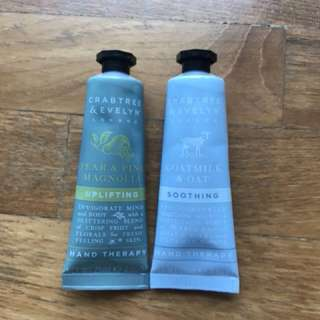 Crabtree and Evelyn Hand Cream