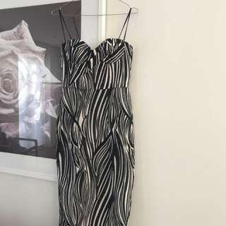 Manning Cartell bustier dress size 8