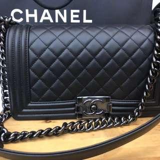 Chanel So Black Boy - Medium Size