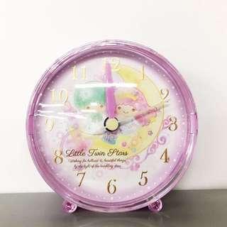 【LITTLE TWIN STAR】日版SANRIO 小型鬧鐘 直徑10CM