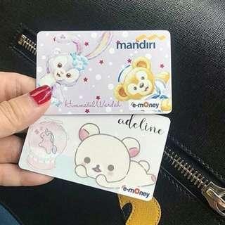 Custom Kartu e tol card e toll e money kartu GTO