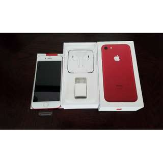 Brand new Apple iphone 7 red 256GB Factory Unlocked to all network