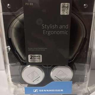 Sennheiser PX 88 headphones (White)