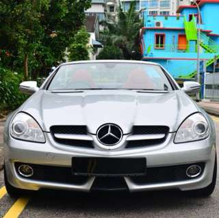 Slk200 Merz for rental
