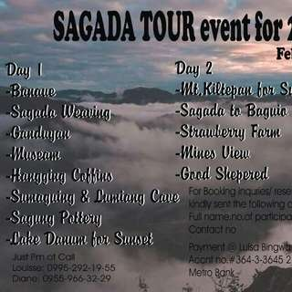 SAGADA TOUR Event