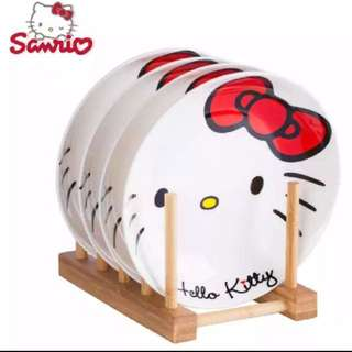 INSTOCK Hello Kitty Ceramic Plates