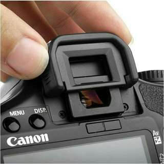 Canon viewfinder cup with rubber protector
