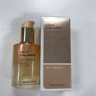 The Face Shop Gold Collagen Luxury Base (brand new)