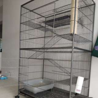 Solid 3-tier Cat Cage