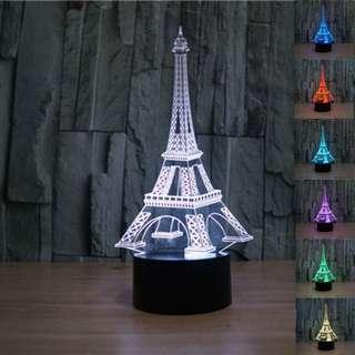 Lampu LED 3D