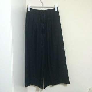 Journal standard黑色寬褲