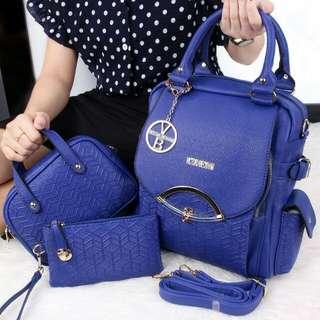 Victoria Bechkam Naigona 3in1 Backpack bag
