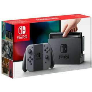 WTS: Nintendo Switch (Grey)