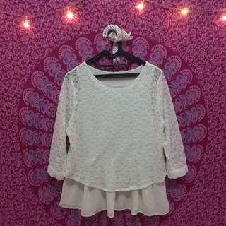 blouse brukat