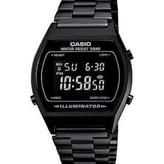 Casio Full Black OEM Watcg