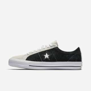 Converse One Star Pro Ox Black White [ORIGINAL]