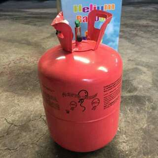 Helium Tank with content
