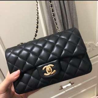 💯真品 Chanel mini flap 20cm