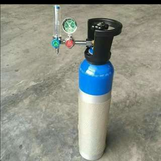 Medical Oxygen Tank and Content For sale