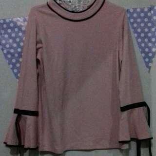 3mongkis Long sleeves Pink