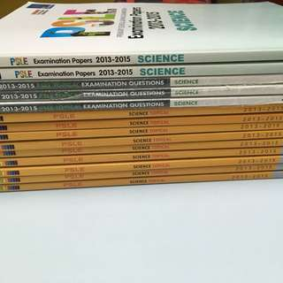 Past Year PSLE Science Papers (2013-2015)