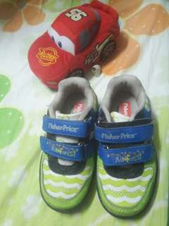 Pre loved fisher price shoes