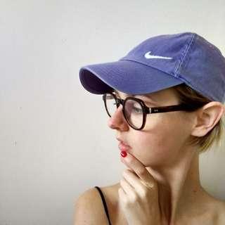 Lavender NIKE Cap