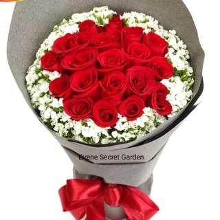 Flower bouquet/valentine bouquet/birthday bouquet