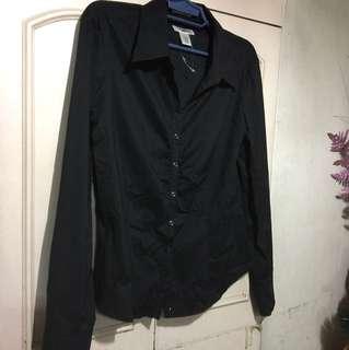 black long sleeved