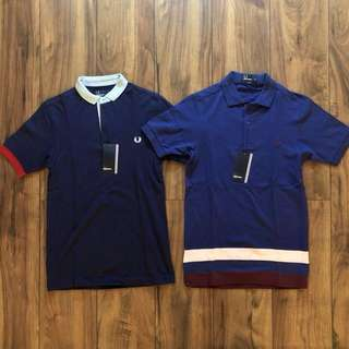 100% Authentic Fred Perry Polo Shirts