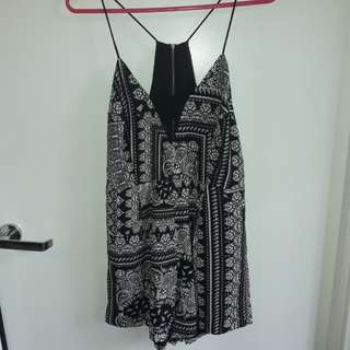 Finders Keepers Playsuit Size S/M New