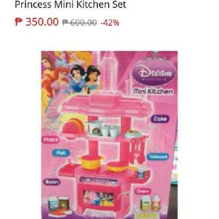 Sale:Princess mini kitchen