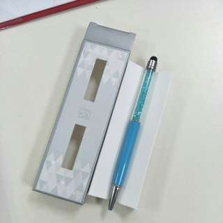 BN Blue Crystal Pen