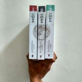 1Q84 (1 bundle, jilid 1-3) - Haruki Murakami