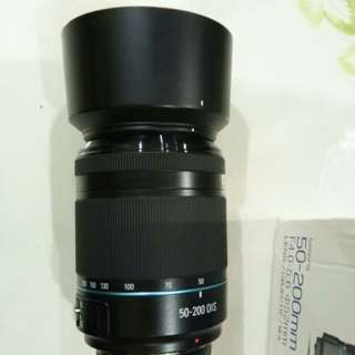 Samsung nx camera lens 50 to 200mm telescopic