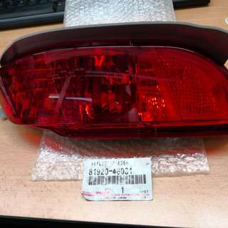 Toyota harrier reflector assy 09y