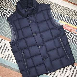 Moncler Men Down Vest (Navy)
