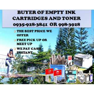 Buyer Of Empty Ink Cartridges and Brand new Highly Buying Demand