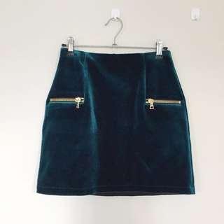 Sandro - Janet velvet skirt