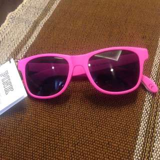 Pink Victoria's Secret Sunglasses with bottle opener