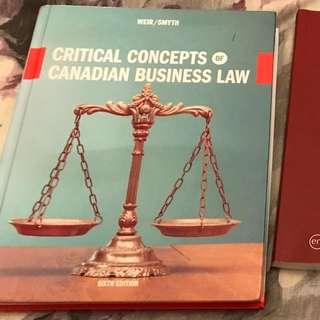 PARALEGAL textbooks Humber