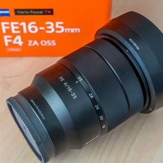 Sony Zeiss (VT)T* FE 16-35mm F4 ZA OSS